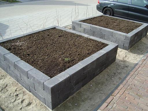 Plantenbakken hoveniersbedrijf van der burg for Eigen moestuin ontwerpen en aanleggen